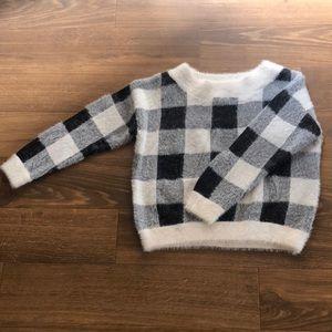 Black & white express sweater